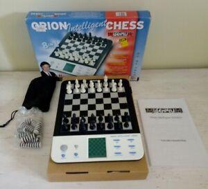 "Ravissement Jeu D'echec ""orion Intelligent Chess 8 In 1 Anatoly Karpov"" Millénium"