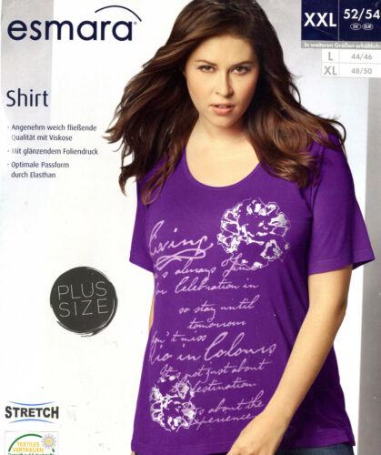 Shirt  Damen brombeer Größe 44//46  Freizeit Sport Mode bequem kurzarm OVP