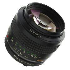 Minolta MD 85mm 1.7 Lens