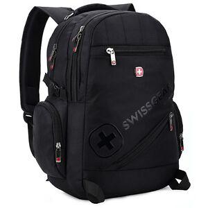 SWISSGEAR-Waterproof-Sports-Travel-Backpack-Satchel-Schoolbag-Daypack-Bag-Unisex