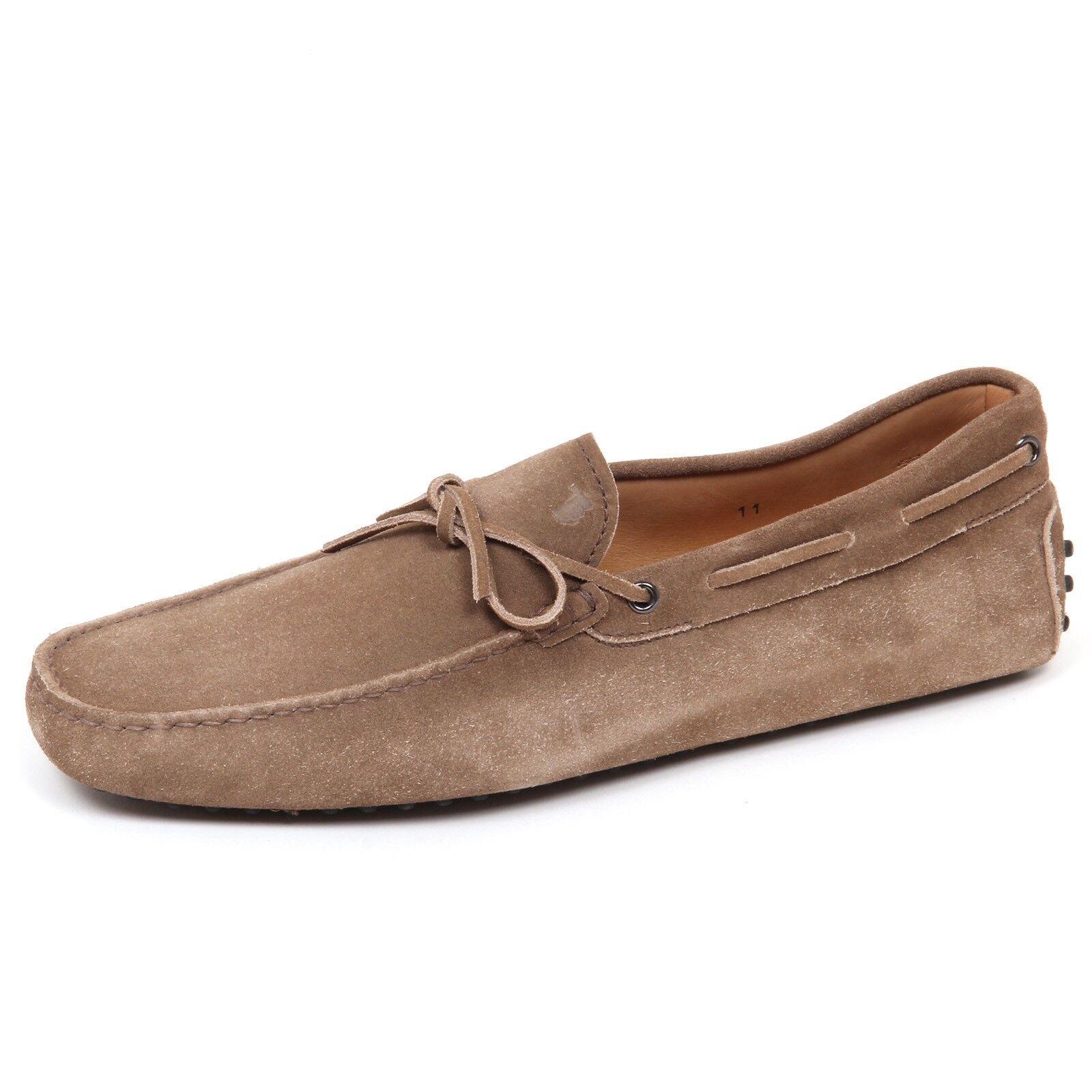 E2984 mocassino uomo suede TOD'S marrone chiaro scarpe suede uomo loafer shoe man 2a012d