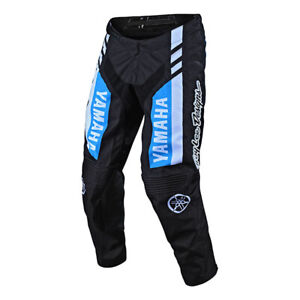 30 Black//White Troy Lee Designs GP Skully Mens Off-Road Motorcycle Pants
