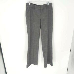 Express-Design-Studio-Womens-Dress-Career-Pants-Gray-Heathered-Slacks-6