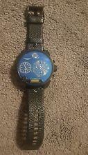 Diesel Men's Watch DZ 7127 Oversized Round Face Black