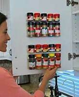 4 Clip N Store Kitchen. Organize Spices, Arts And Crafts Supplies,medicines