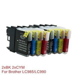 LC980-LC985-LC975-Cartouches-D-039-encre-Compatibles-Pour-Imprimantes-Brother