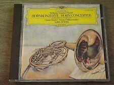 Scarce Mozart: Horn Concertos-Bohm (CD, 1984, DG Deutsche Grammophon) W. Germany
