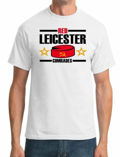 Red Leicester Communism Funny Mens T-Shirt UK