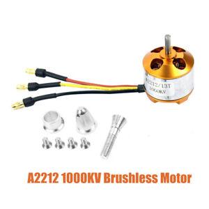 Brushless-Outrunner-Motor-1000KV-buerstenloser-Motor-Aussenlaeufer-Fuer-RC-flugzeug