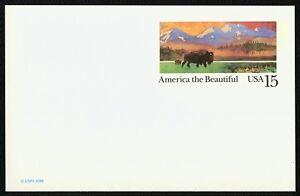 #UX120 15c America El Hermoso: Americano Buffalo, Nuevo Cualquier 5=