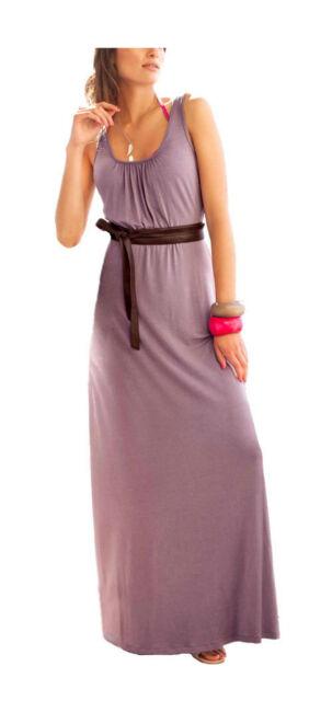 Kleid Maxi-Kleid Aniston Viskose mauve rose  Gr. 40 44 44