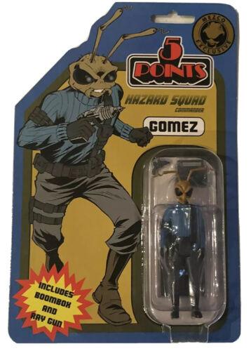 """MEZCO 5 points Gomez Hazard SQUAD COMMANDER 3.75/"""" Limited Edition Action Figure"""
