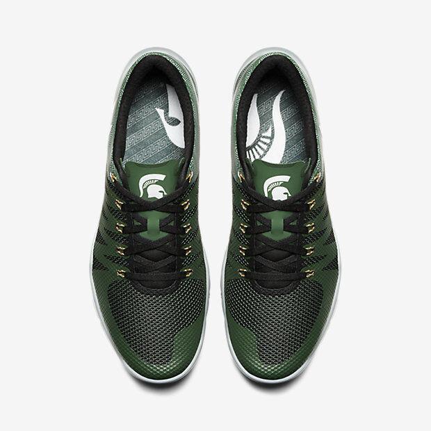 Nike AMP Free Trainer 5 V6 AMP Nike Michigan State Spartans cómodos zapatos nuevos para hombres y mujeres, el limitado tiempo de descuento c29037