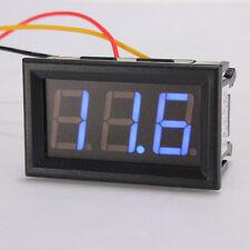 DC 0-99V Mini Blue LED Digital Display Voltmeter Voltage Panel Volt Meter Car