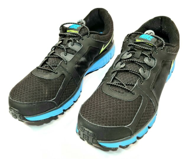 Rápido Auckland Charlotte Bronte  Nike Dual Fusion Trail 2 Running Mens 2016 Shoes Black Blue 819146-004 12  for sale online | eBay