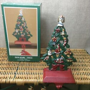 Christmas In Angel Falls Cast.Details About Midwest Of Cannon Falls Cast Iron Holiday Tree Angel Christmas Stocking Hanger