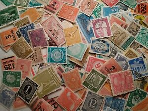 50-All-Different-Vintage-German-Deutsche-Post-Deutschland-Stamps-50-Mint