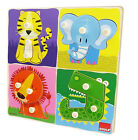 GOULA Wooden Jungle Animals Puzzle (12 Pieces)