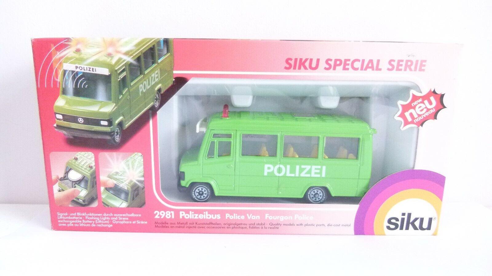 Siku Special Series Police Van - Boxed