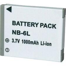 Batteria NB-6L Per Canon Powershot Sx260 Hs 1000mAh SPEDIZIONE CORRIERE