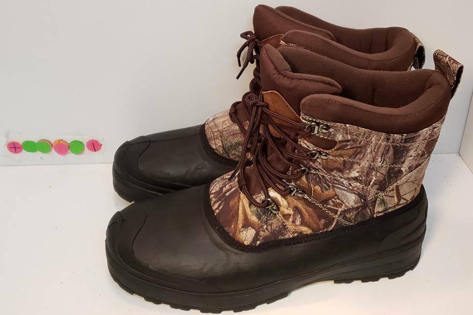 REALTREE OZARK Camo Outdoor Hunting Snowboots Men's Size 7