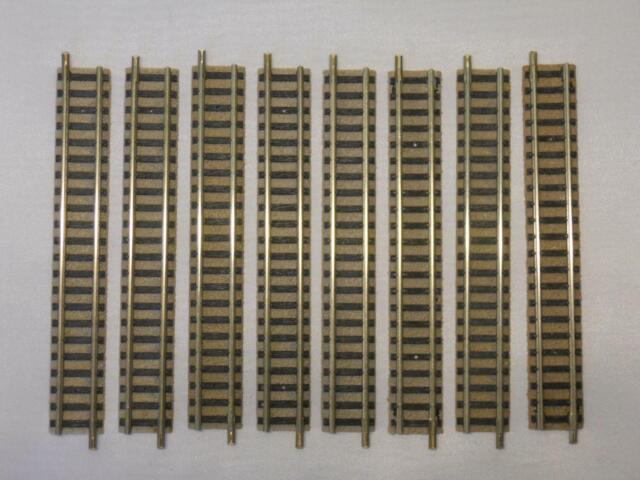 Flm piccolo 9101 gerades Gleis 111mm hellgrau 8 Stück (33592)
