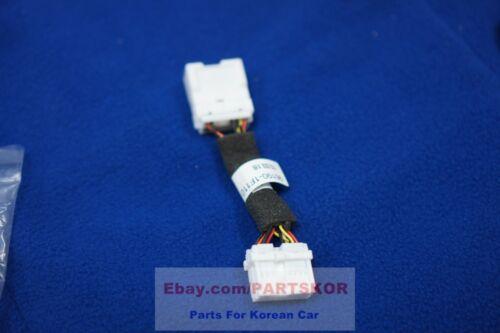 For KIA SPORTAGE 2005-2010 AUX USB Jack Lead Wire 3Pcs 1Set Genuine Bezel