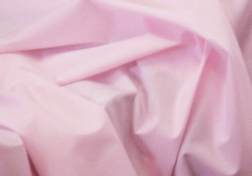Pale Pink Baby Pink Plain Polycotton Fabric 114 cm width free p/&p Poplin Fabric