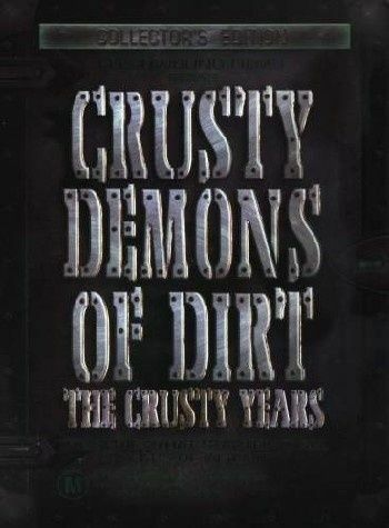 Crusty Demons Of Dirt DVD (DVD, 2003, 4-Disc Set)