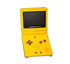 Nintendo Game Boy Advance Sp Pikachu Handheld System Yellow For Sale Online Ebay