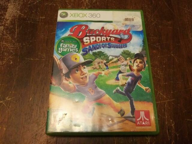 Backyard Sports: Sandlot Sluggers (Microsoft Xbox 360 ...