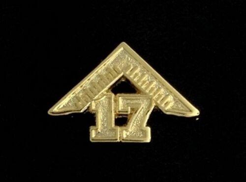 Masonic Master/'s 2017 Lapel Pin