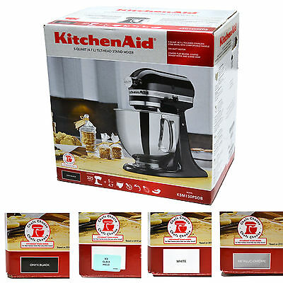 KitchenAid Mixer 5 Quart Tilt Head Stand Stainless Steel Bowl 5 Qt Baking New