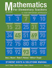 Mathematics for Elementary Teachers: A Contemporary Approach Student Hints and Solutions Manual by William F. Burger, Gary L. Musser, Blake E. Peterson (Paperback, 2014)