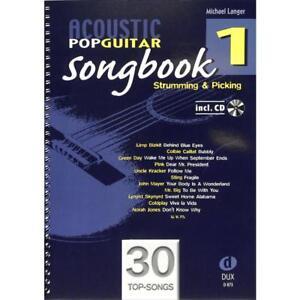 Langer: ACOUSTIC POP GUITAR SONGBOOK 1 CD! Spielbuch Gitarre 978-3-86849-010-7 - Tirschenreuth, Deutschland - Langer: ACOUSTIC POP GUITAR SONGBOOK 1 CD! Spielbuch Gitarre 978-3-86849-010-7 - Tirschenreuth, Deutschland