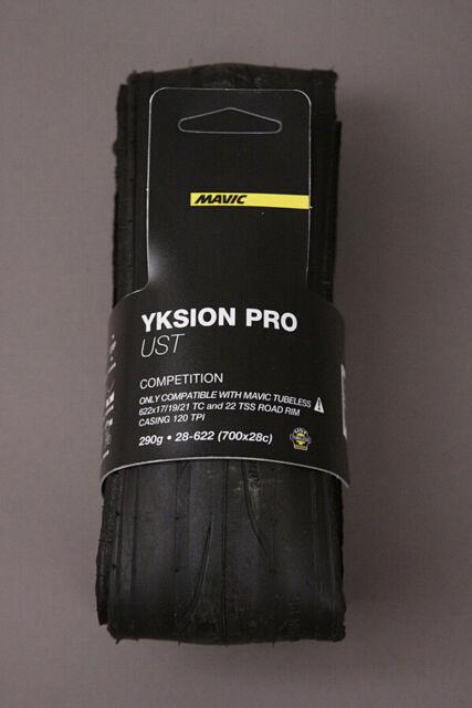700 x 28c .TUBELESS.NEW. Set of 2 Mavic Yksion Pro UST II Tyres