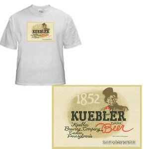 JACKSON KOEHLER BEER LABEL T SHIRT ERIE BREWING PA  SIZES SMALL-XXXLARGE F