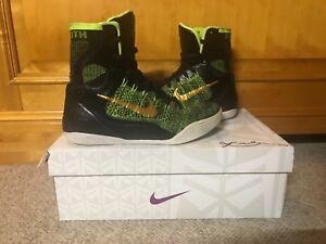 51a24fa89992 Nike Kobe IX 9 Elite Victory Black Green Size 8 Men s Basketball ...