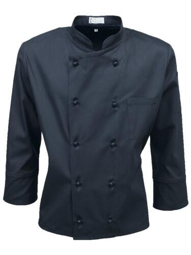 For Style Uomo Qualità Jacket Korean Chef Top Cuoco Alta Giacca Coreana Elau 8TZ6ww