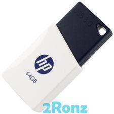 hp 3 0 usb flash drive clé 64gb x755w thumb memory slide stick