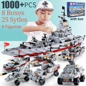 Details about  /618pcs Hot Combat Destroyer Frigate Warship Battleship Building Blocks Model Toy