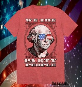 f2efd59282cde ... July Mens T Details about New We the Party People George Washington USA  Fourth of July Mens T Shirt Source · Zexpa Apparel Chained Skulls American  Flag ...