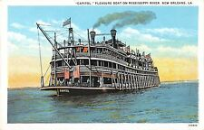 B98908 capitol pleaure boat on mississippi river new orlean usa    ship bateaux