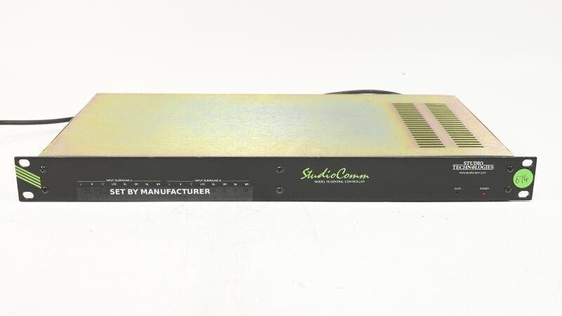 Studio Technologies Studiocomm Modell 78 Zentral Controller für Einfassung