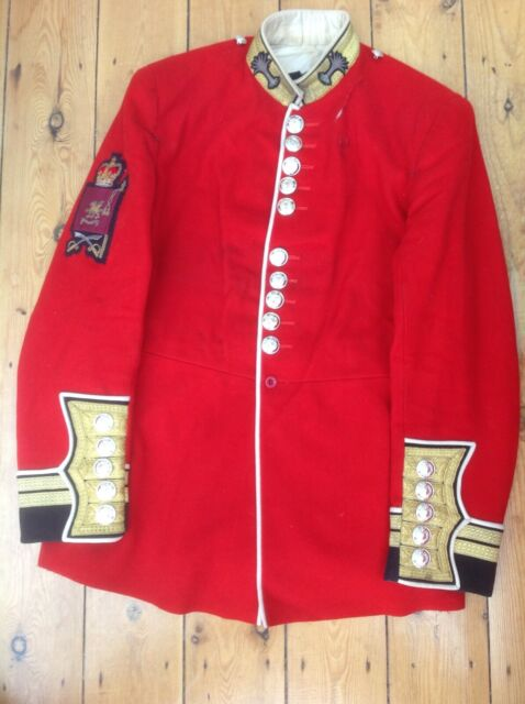 Welsh Guards Warrant Officer Band Sergeant Major parade tunic WO Cl.2 W. Gds.