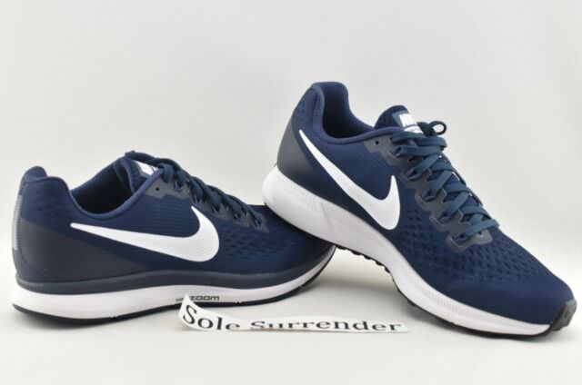 9a0537519575 Nike Air Zoom Pegasus 34 - SIZE 7.5 - NEW - 880555-407 Navy Obsidian