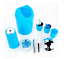 6Pcs-Plastic-Bathroom-Accessory-SET-Dispenser-Toothbrush-Cup-Holder-Cup-Lotion miniature 6
