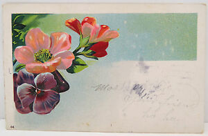 Flowers-1909-Franklin-Stamp-Series-1902-USA-Postcard-Ak-Postcard-A2415