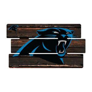 Carolina-Panthers-Defense-Holzschild-XL-63-cm-NFL-Football-Fence-Sign