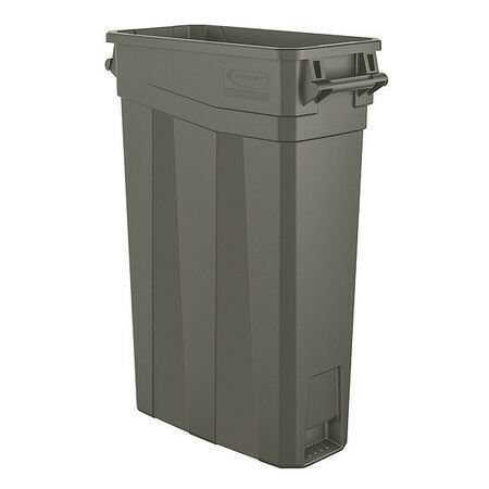 SUNCAST COMMERCIAL TCNH2030 23 gal Rectangular Trash Can